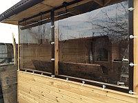 мягкие окна для веранд и беседок на заказ